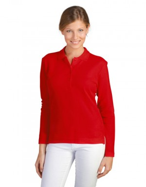 SOLS Ladies Longsleeve Polo Podium