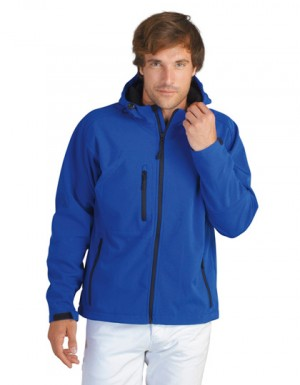 SOLS Hooded Softshell Jacket Replay