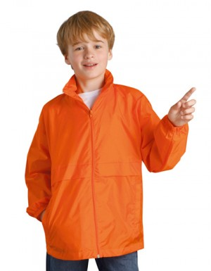 SOLS Kids Windbreaker Surf