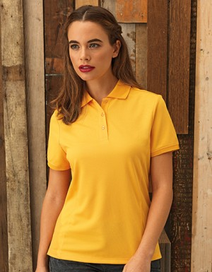 Premier Workwear Womens Coolchecker Piqué Polo