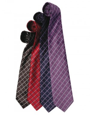 Premier Workwear Krawatte Line-Check
