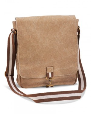 Quadra Vintage Canvas Messenger