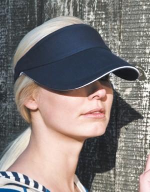 Result Headwear Herringbone Sun Visor