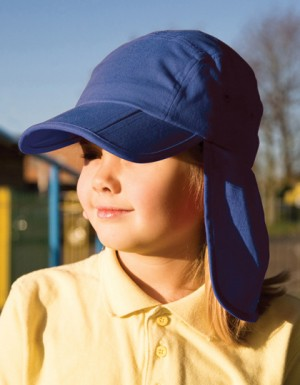 Result Headwear Junior Fold Up Legionnaires Cap