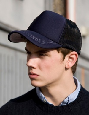 Result Headwear Super Padded Mesh Baseball Cap