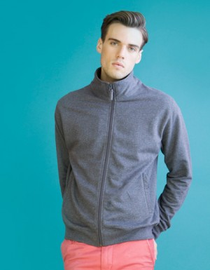 SF Men Mens Essential Zip Through Sweat