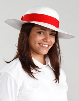 Serie Graffic Panama Hat Madame