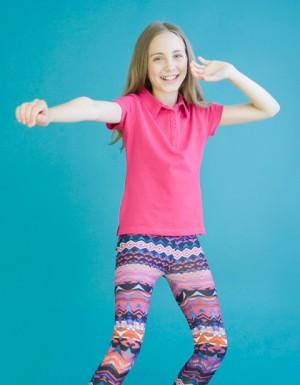 SF Minni Kids Stretch Polo