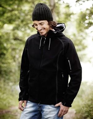 Tee Jays Hooded Softshell Jacket