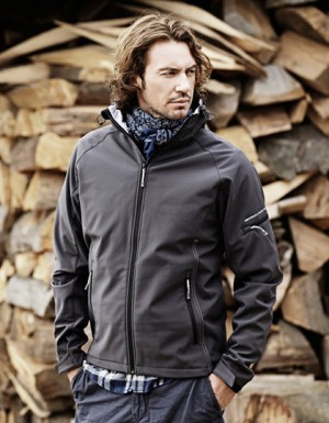 Tee Jays Hooded Fashion Softshell Jacket