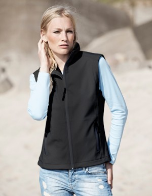 Tee Jays Ladies Soft Shell Bodywarmer