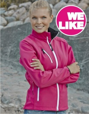 Tee Jays Ladies Softshell Jacket