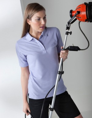 Henbury Ladies Piqué Polo 65/35