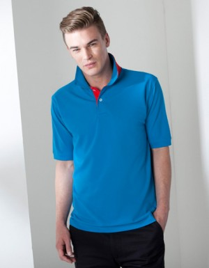 Henbury Men´s Contrast Pique Polo Shirt 65/35