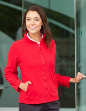 Henbury Ladies Microfleece Jacket