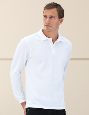 Russell Longsleeve Classic Cotton Polo