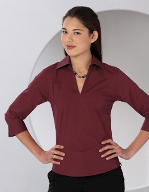 Russell Collection Stretch Tunika Bluse