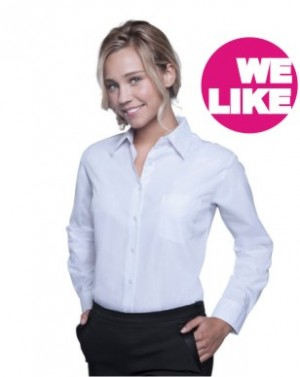 SOLS Popeline-Langarmbluse Executive