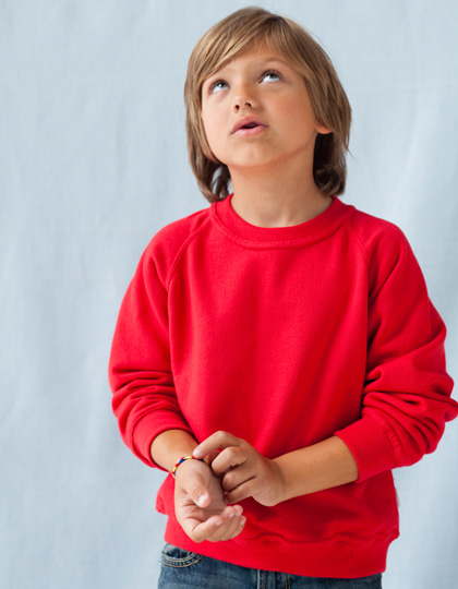 Anvil Youth Raglan Sweatshirt