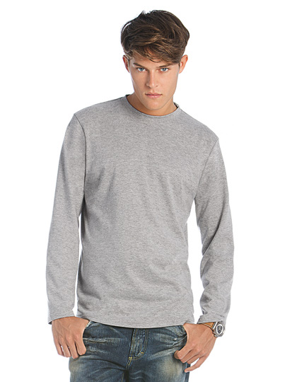 B&C T-Shirt Exact 190 Long Sleeve