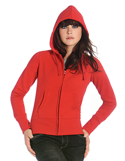 B+C Hooded Full Zip Sweat / Women
