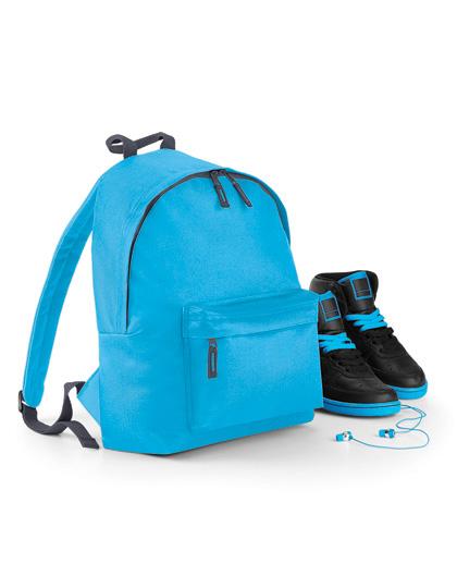 BagBase Junior Fashion Backpack White