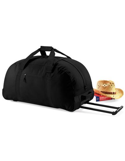 BagBase Classic Wheelie Holdall Black