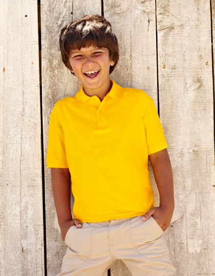 Fruit of the Loom 65/35 Polo Kids