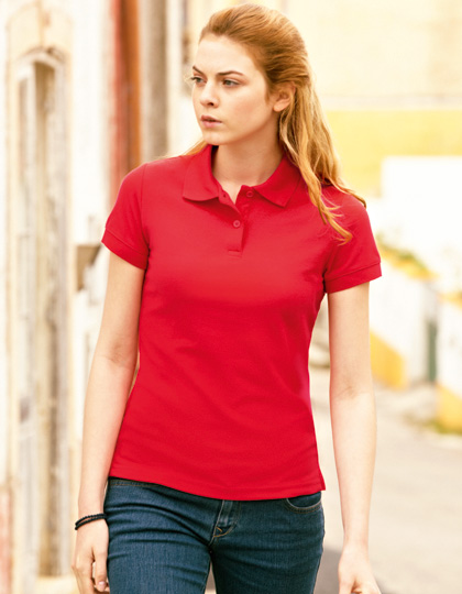 Fruit of the Loom 65/35 Polo Lady-Fit