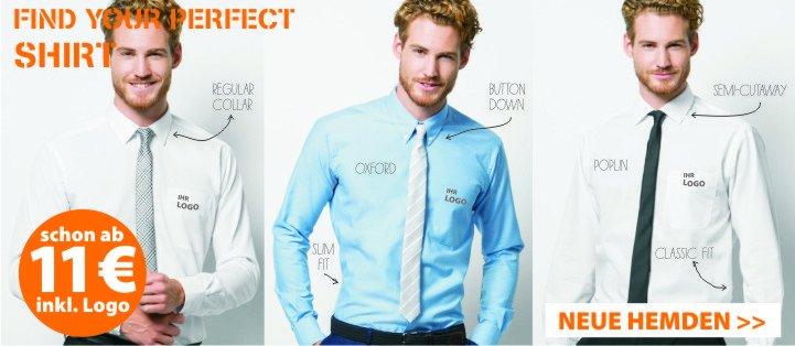 Hemden und Blusen besticken lassen