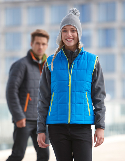 James+Nicholson Ladies´ Padded Light Weight Vest