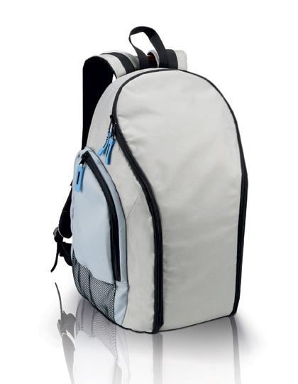 Kimood Kühltaschen-Rucksack 113 Light Grey