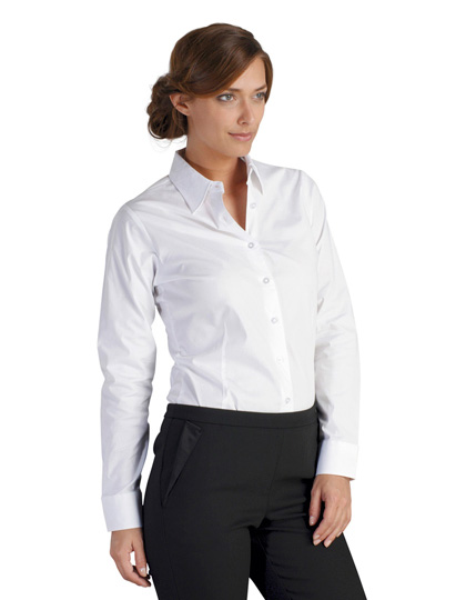 SOLS Ladies Long Sleeved Stretch Shirt Eden