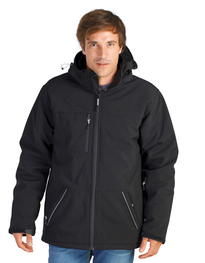SOLS Rock Men Padded Winter Softshell