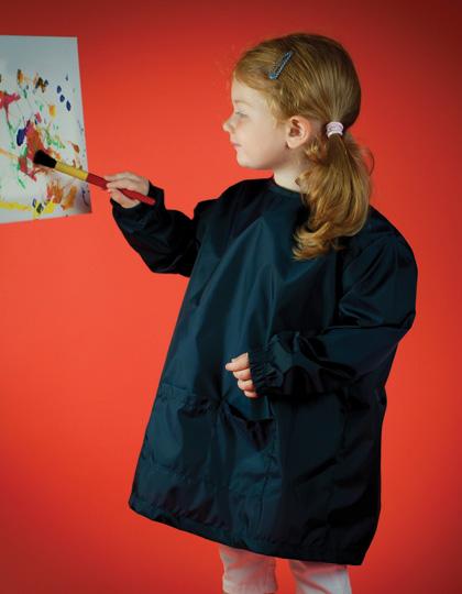 larkwood kids poncho berufskleidung mit logo stickerei. Black Bedroom Furniture Sets. Home Design Ideas