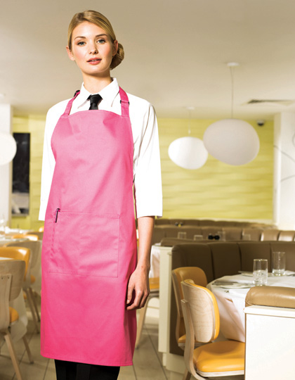 Premier Workwear ´Colours´ Bib Apron With Pocket